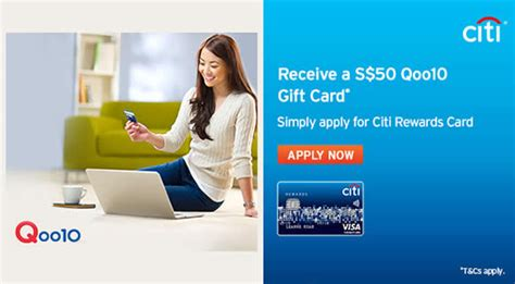 Citi Cards Rewards Gift Cards - citibank apply rewards card get 50 qoo10 gift card 11 mar 30 apr 2016