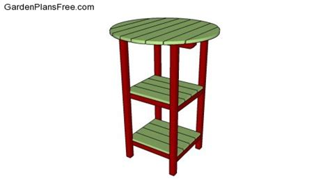 bistro table plans free garden plans how to build garden projects