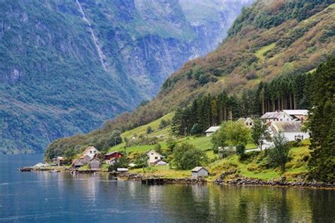 fjord in english norway in a nutshell railway trip from oslo bergen