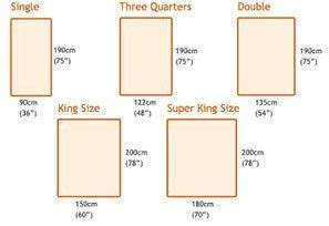 King Size Bed Length In Cm 17 Best Ideas About King Size Mattress Dimensions On