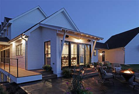 modern farmhouse curt hofer associates curt hofer modern farmhouse traditional patio omaha by curt
