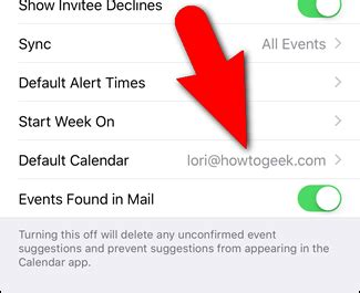 make calendar default how to set the default calendar for new appointments in