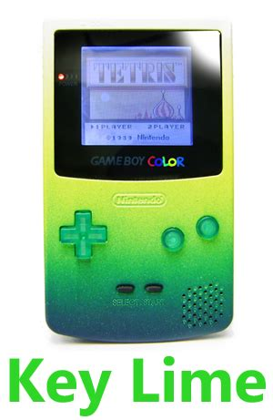 gameboy color game mod gameboy colors have been reved and added a new model