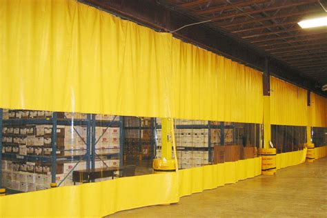 curtain warehouse industrial curtain walls vinyl wall dividers partitions