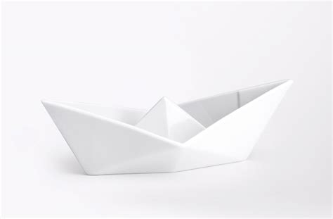 how to make a paper boat it 2017 origami porcelain paper boat designeros paper boat drink