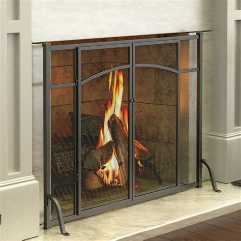 Fireplace Screens For Gas Fireplaces by 1000 Ideas About Fireplace Doors On Painting Fireplace Paint Fireplace And Brass
