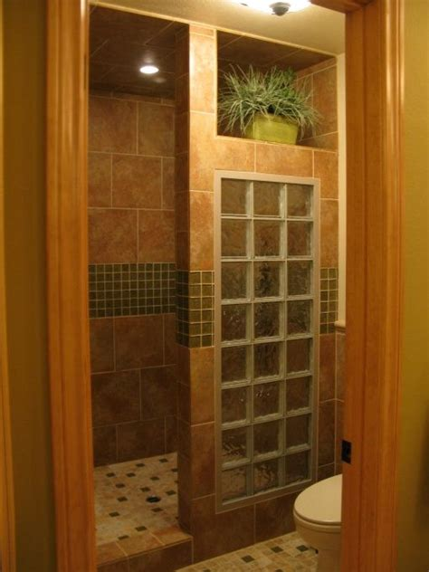 best 25 glass block shower ideas on small