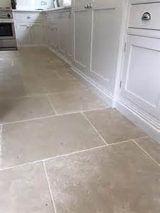 Kitchen Tiles Flooring Grey Limestone Tiles For A Durable Kitchen Floor Light Grey Toned Interior And Exterior
