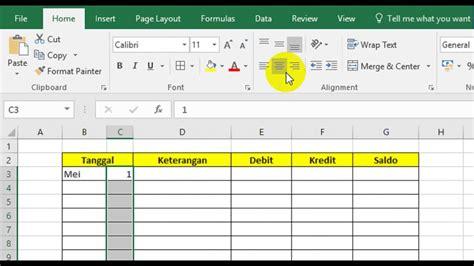 membuat laporan keuangan toko sederhana membuat laporan keuangan sederhana dg excel youtube