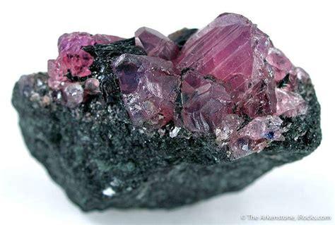 Ruby Tanzania ruby winza 07 winza tanzania mineral specimen