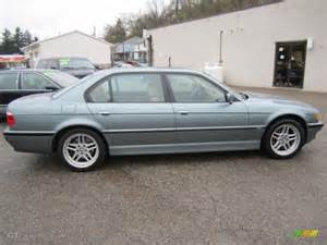 glacier green metallic 2001 bmw 7 series 740il sedan