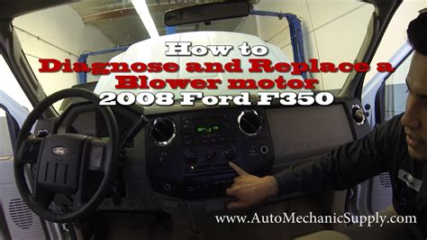 how to replace a blower motor on a 2008 jeep commander how to diagnose and replace a blower motor 2008 ford f350 super duty xlt youtube