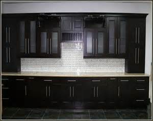 Black Kitchen Furniture espresso shaker style kitchen cabinets home design ideas
