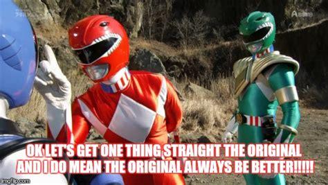 Power Rangers Meme Generator - power rangers imgflip