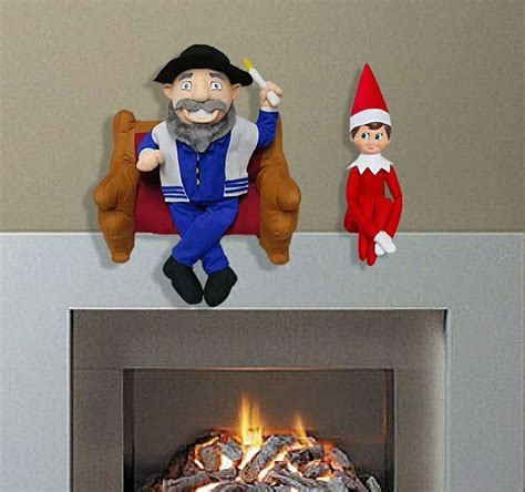 benching jewish mensch on a bench jewish cousin to elf on a shelf