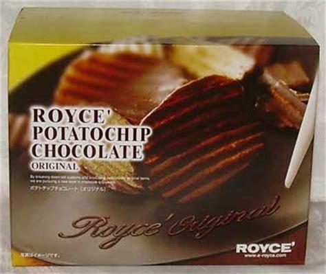 Royce Potatochip Caramel Original Japan japanese snack reviews royce chocolate covered potato chips