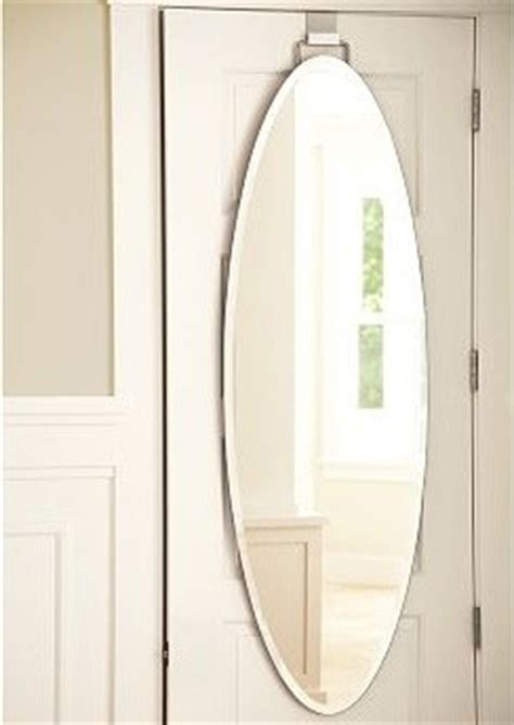 mirror bathroom door over the door mirror oval traditional bathroom