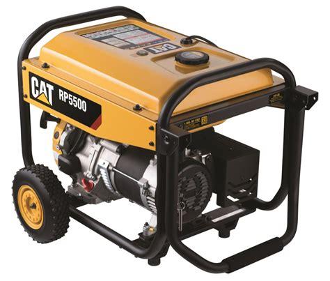 caterpillar cat cat enters outdoor power market  rp generator   portable generators
