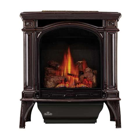 direct vent gas stove fireplace napoleon bayfield direct vent iron gas stove w