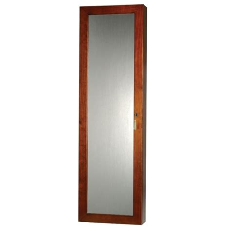 wall mounted jewelry armoire mirror locking wall mounted jewelry armoire mirror large storage