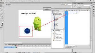 membuat link button pada flash cara mudah membuat button dan actionnya di adobe flash cs6