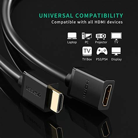 hdmi extension cable for stick ugreen hdmi cable extension to hdmi extender