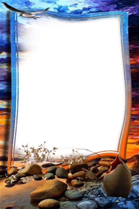 cornici fotografiche cornici foto dopo il tramonto