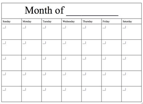 Fill In Calendar Yearly Or Go Green And Fill In The Blanks With Pencil And