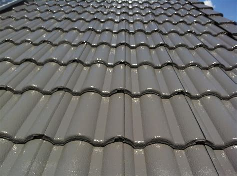 Cement Tile Roof Concrete Tile Roof Restoration Brisbane Roo Roofing