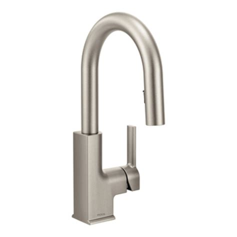 kitchen faucet stainless shop moen sto spot resist stainless 1 handle kitchen