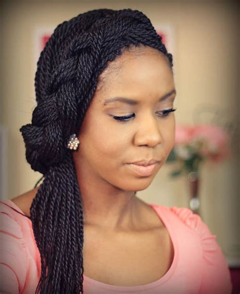 black woman twist hair styles up in pony tails 29 senegalese twist hairstyles for black women stayglam