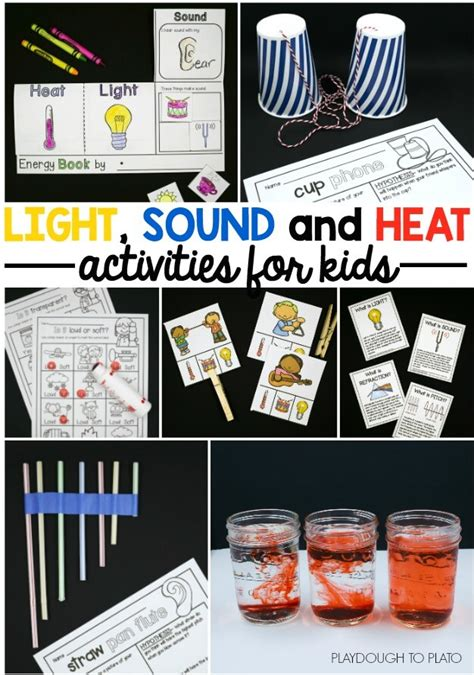 light experiments for kids light sound and heat the stem laboratory