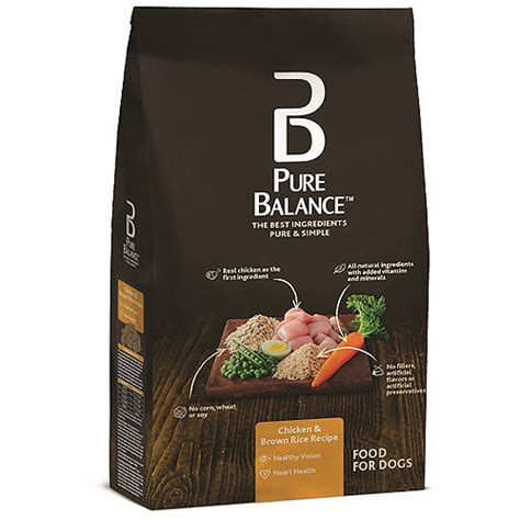 Food For Less Gift Card Balance - pure balance dog food chicken brown rice recipe 15 lb walmart com