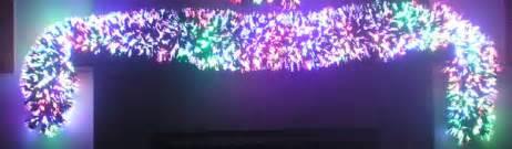 fibre optic garland fiber optic garland