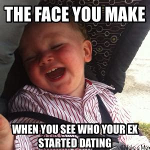 Ex Boyfriend Meme - when you see your ex meme