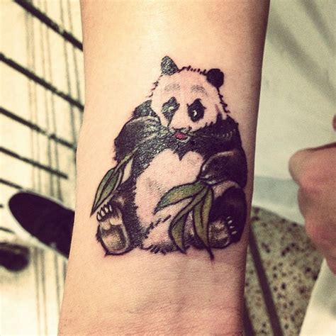 panda tattoo cute cute panda tattoo best tattoo design ideas