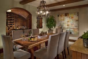 Beautiful wine cellar dining room bring wealthy appearance integrate