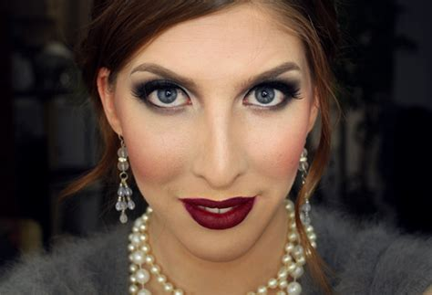 great gatsby 1920s inspired makeup wearable 1920 s inspired makeup tutorial meredith