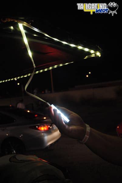 Lu Led Floodlight luminoodle light rope tailgating ideas