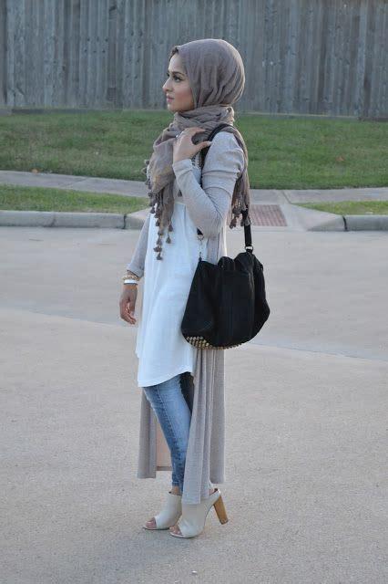 Tunik Denim Grey Dress Denim Abu tunic with and fashion looks for trendy style fashion ideas