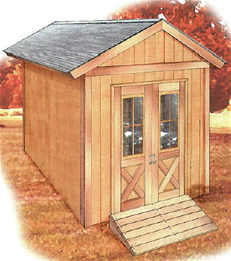free small shed plans