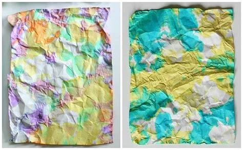 libro ish crumpled paper art for kids inspired by ish paper art and for kids