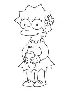 40 Page Essay On The Simpsons by Simpsons Coloring Pages Coloringpages1001