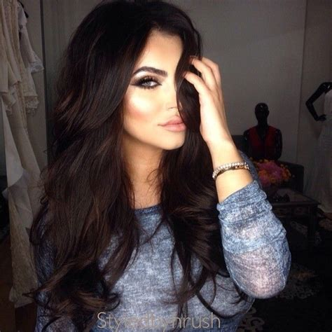 black hair for the 25 best ideas about dark hair with lowlights on pinterest