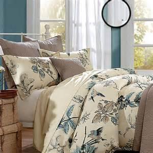 Comforter Sets Birds Beige Green And Blue Nature Jungle Safari Themed Bird