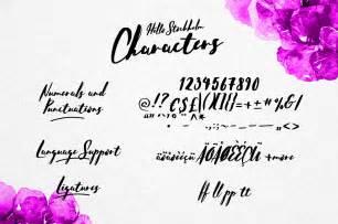 Font Handmade - hello stockholm handmade typeface befonts