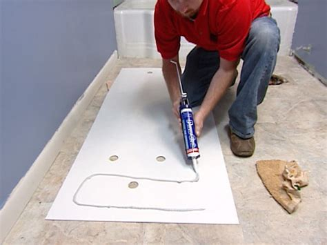 how to caulk a bathtub surround how to install a marble floor and tub surround how tos diy