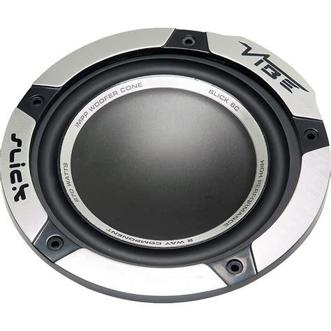 vibe slick 6 comp v2 6 5 quot car door component speakers set