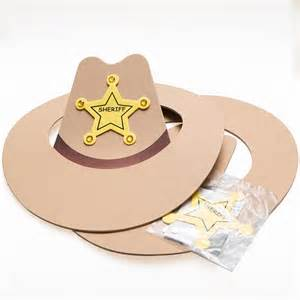 cowboy crafts foam cowboy hat craft kits
