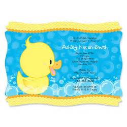 free duck baby shower printable invitation and rubber invitations ideas